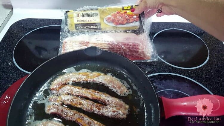 Bacon and Scallops Dinner Recipe