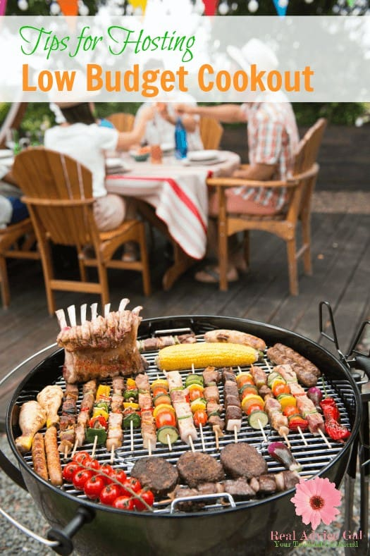 Tips For Hosting a Low Budget Cookout