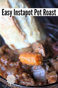 Instapot Pot Roast Recipe