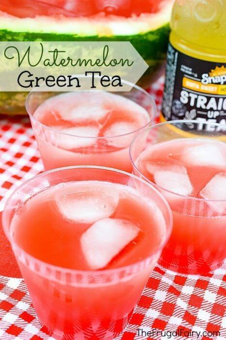 Watermelon Green Tea