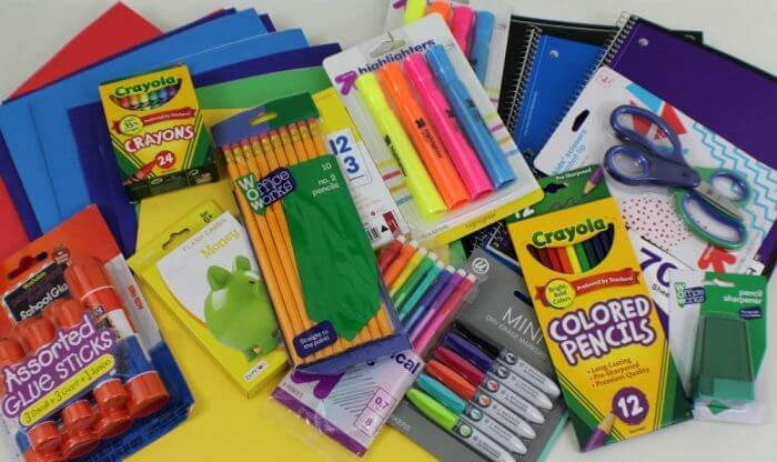 Giving Back Packs School Supplies 2016