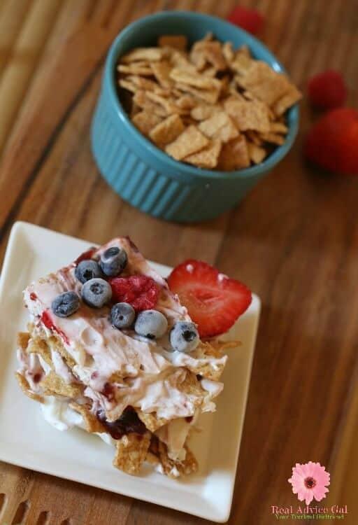 Healthy cereal recipe
