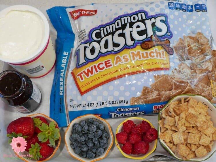 Healthy cereal ingredients