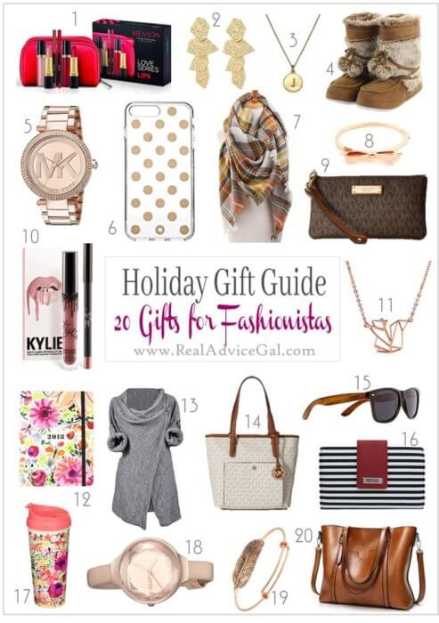 Got some fashionable friends? Here's our list of great gifts for fashionistas