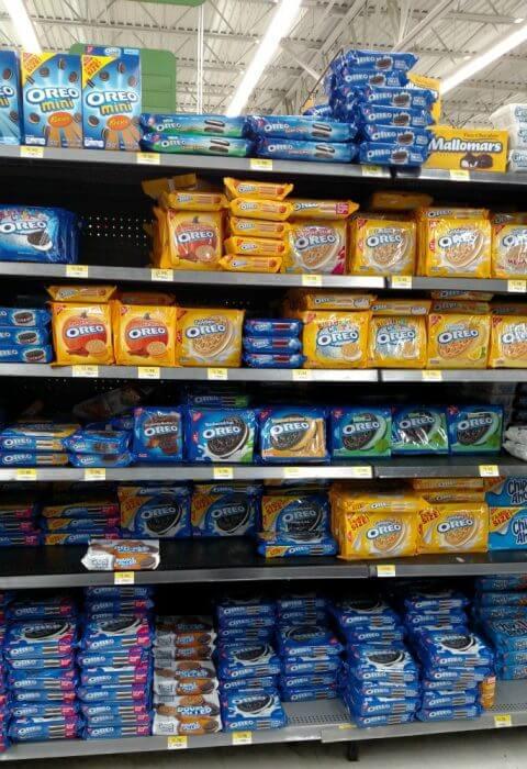 Oreo Cookies Balls Oreos on the shelves