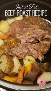 Instant Pot Beef Roast Recipe