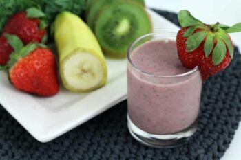 Our rooty tooty smoothie is a delicious way to make a nutritious breakfast for your kids