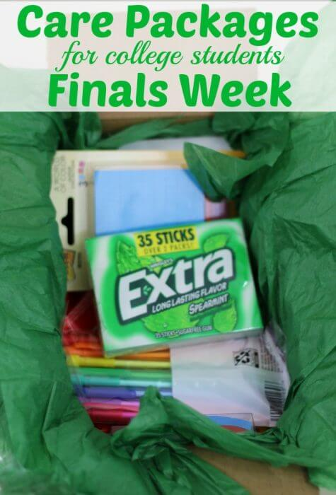 Finals Care Package for College Students are a great way to support your student