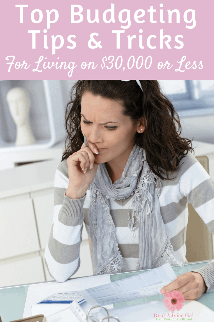 Budgeting Tips For living on low income are a must! Don't miss our top list!