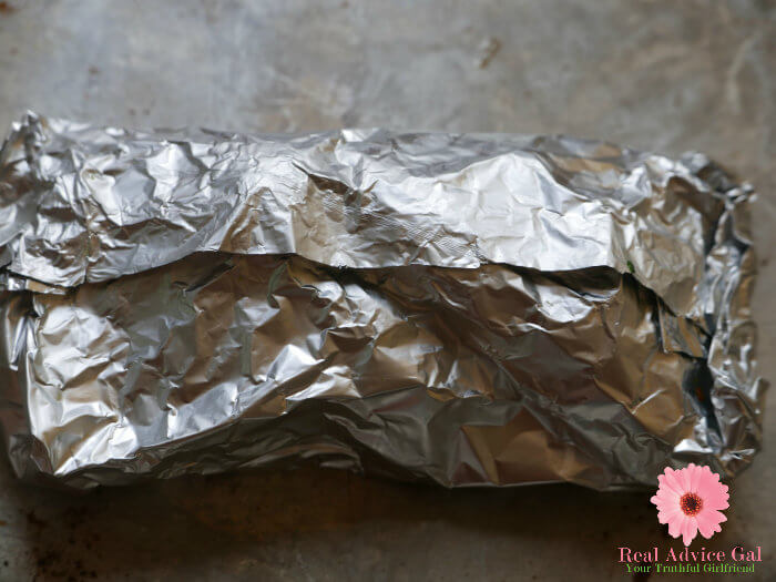 oven baked salmon in foil