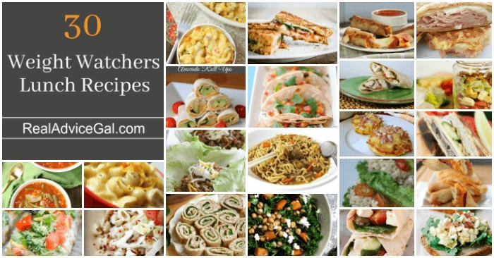 Easy Weight Watchers Lunch Menu Recipes