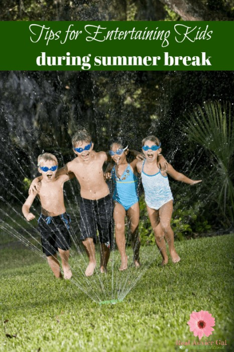 We all know how fast kids get bored when they're at home. Read my tips on how to keep your kids entertained during the summer break.