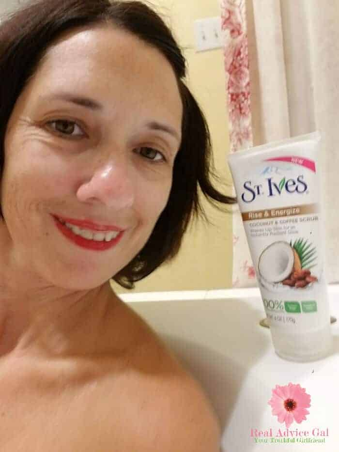 Are you looking for the best exfoliator for the face that is gentle? Check out my St. Ives Coconut & Coffee Scrub review.