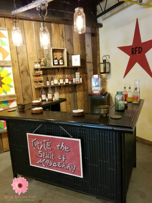 Mayberry Spirits in Mount Airy North Carolina