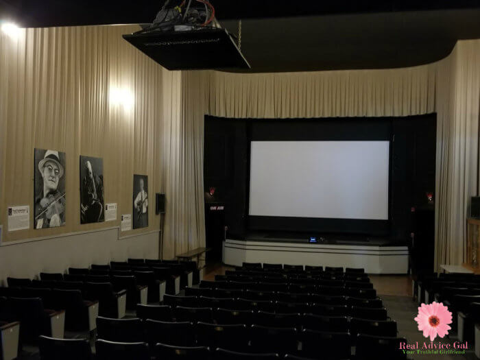Earle Theatre Tour in Mount Airy North Carolina