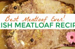 I love Irish food! One of the best I've tasted is Irish meatloaf so I recreated the recipe. It's super easy and so tasty.
