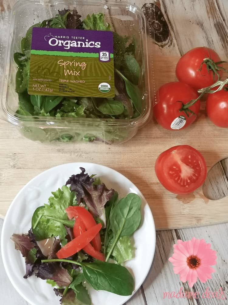 Try this easy and delicious harris teeter organics spring mix