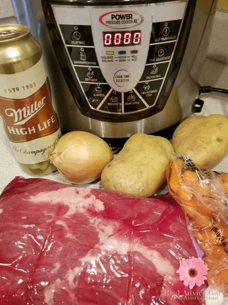 Easy pressure cooker corned beef ingredients