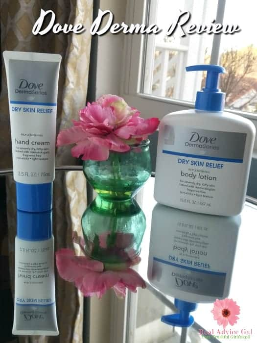 Are you suffering from dry, itchy skin? Are you searching for the best moisturizer for dry skin? Check out my Dove Derma Series Review