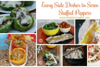 What goes good as a side dish with stuffed peppers