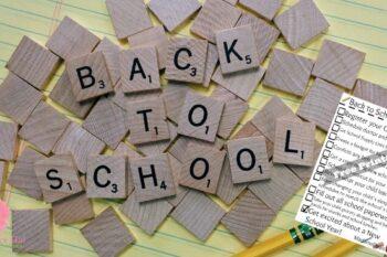 back to school checklist