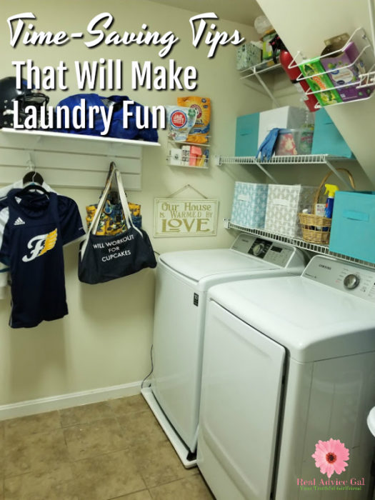 Time saving tips that will make laundry fun