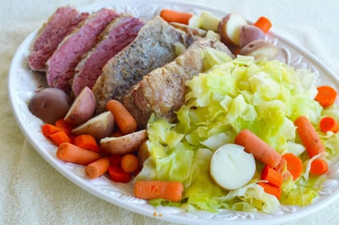 When buying corned beef do you choose point cuts or flat cuts?