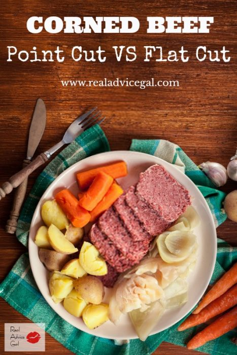 When preparing for your St. Patrick's Day feast do you choose point cut or flat cut corned beef?